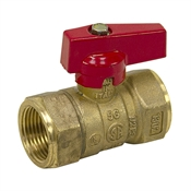 "3/4"" NPT 600 PSI Brass Ball Valve"