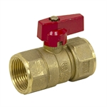 "1"" NPT 600 PSI Brass Ball Valve"