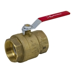 "2"" NPT 360 PSI Brass Ball Valve"