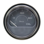 "80 PSI 2"" Oil Pressure Gauge Electric"