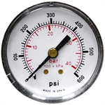 "600 PSI 2"" BM Dry Gauge CDS-5P-040D*600"