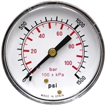 "1500 PSI 2.5"" BM Dry Gauge CDS-1P-100D**1500"