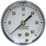 60 PSI 2 BM Dry Gauge 2 PSI Graduation