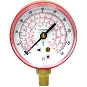 500 PSI 2.5 LM Dry Gauge Compressed Refrigerants 5 PSI Graduations