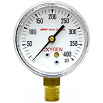 400 PSI 2.5 LM Dry Gauge 10 PSI Graduation