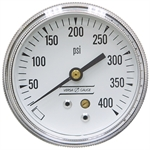 400 PSI 2.5 BM Dry Gauge 10 PSI Graduation
