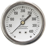 400 PSI 2.5 CB Dry Gauge
