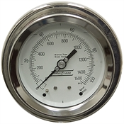 1500 PSI 4 PM Dry Gauge