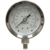 600 PSI 4 LM Dry Gauge Versa VS4354YPE4-2