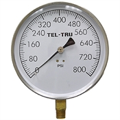 800 PSI 4.5 SS LM Dry Gauge