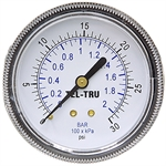 30 PSI 2.5 Steel PM Dry Gauge