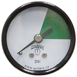 30 PSI 1.5 CB Dry Gauge Color Only No Numerals