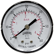 60 PSI 2 CB Dry Gauge Winters 1404PC-R1