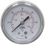60 PSI 2 CB Dry Gauge Winters 901405-R1-R11-RS