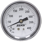 30-0-400 PSI 2.5 PM Dry Gauge
