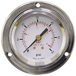 60 PSI / 4 Bar 2 FM Dry Gauge