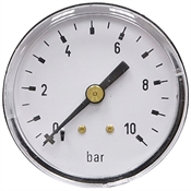 10 Bar 2 BM Dry Gauge 0.5 Bar Graduation