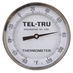 "-80 - 120 Degree F 5"" Face 6"" Stem Teltru AA575R Series 42100631 Thermometer"