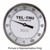 "0 - 100 Degree C 5"" Face 15"" Stem Teltru AA575R Series 42131576 Thermometer"