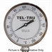 "0 - 200 Degree C 5"" Face 4"" Stem Teltru BC550R Series 40100478 Thermometer"