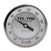 "0 - 220 Degree F 3-3/16"" Face 12"" Stem Teltru GT300R Series 34101256AKKDAAA Thermometer"