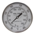 "50 - 400 Degree F, 0 - 200 Degree C 5"" Face 9"" Stem Teltru 5BK09DR Series 38100908 Thermometer"