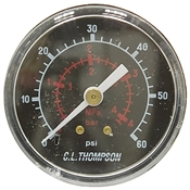 60 PSI 4.2 Bar 2 BM Dry Gauge