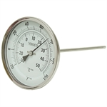 "-20 to 120 F 5"" BM 9"" Stem 1NGF1 Thermometer"