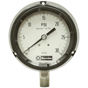 30 PSI 4.5 Flange Panel Dry Gauge