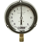 30 in HG To 0 To 15 PSI 4 FP Dry Gauge