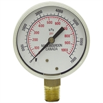 1000 PSI 2.5 BM Dry Gauge Manobourdon