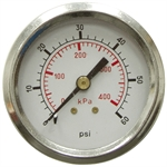 "60 PSI 2"" PM Dry Gauge"