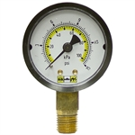 15 PSI 2 Face Dry Gauge