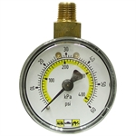 60 PSI 2 Face Dry Gauge