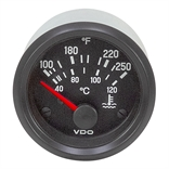 250 F VDO 310 030 006 Electric Water Temperature Gauge