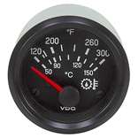 300 F VDO 310 030 007 Oil Temperature Gauge
