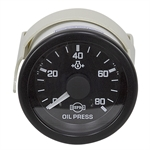 80 PSI Mechanical Oil Pressure Gauge