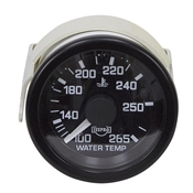 Water Temperature Gauge 100-265 72 Inch Capillary Tube