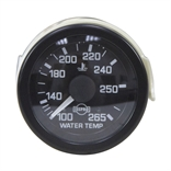 Water Temperature Gauge 100-265 144 Inch Capillary Tube
