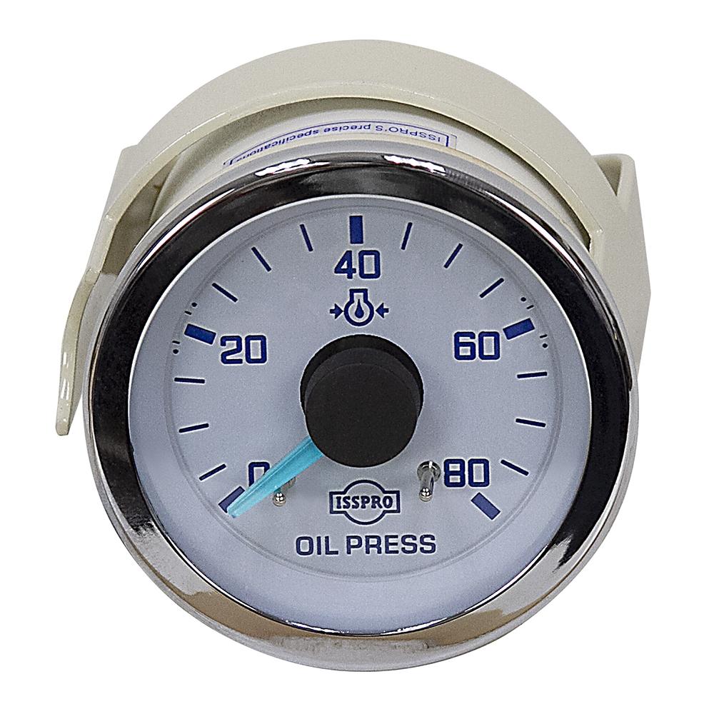 80 PSI Mechanical Oil Pressure Gauge | ISSPRO | Brands