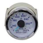 "Water Temperature Gauge 100°-265° 72""  Capillary Tube"