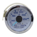 Water Temperature Gauge 100-265 96 Inch Capillary Tube