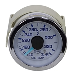 140-325 Mechanical Oil Temperature Gauge 144 Capillary Tube
