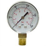 "200 PSI 2"" LM Dry Gauge CDS-5P-015A"