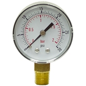 "30 PSI 2"" LM Dry Gauge CDS-5P-002A"