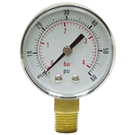 "60 PSI 2"" LM Dry Gauge CDS-5P-004A"