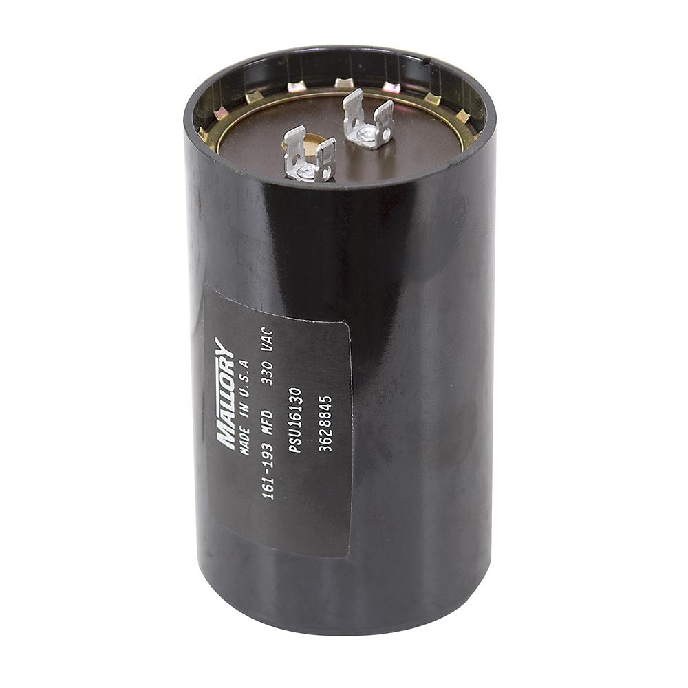 161-193 MFD 330 Volt AC Motor Start Capacitor | Motor