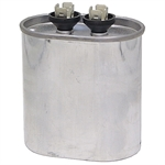 25 MFD 370 Volt AC GE Oval Run Capacitor