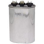 25/5 MFD 370 Volt AC Oval Dual Rated Run Capacitor  27L629