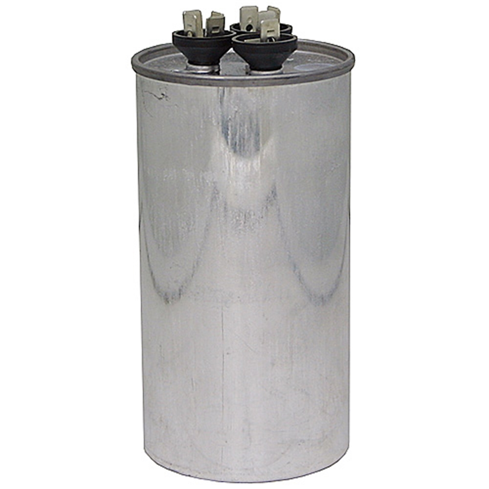 40 4 mfd 440 vac round dual rated run capacitor motor for Capacitors for electric motors